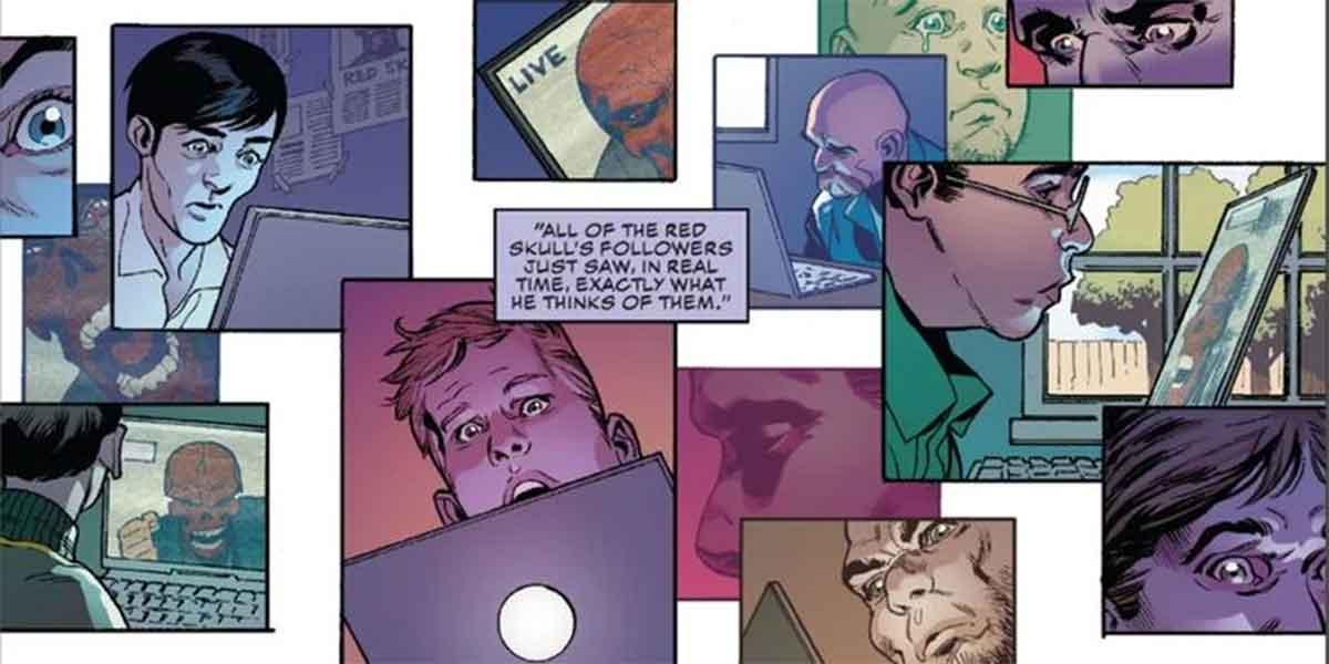 Marvel revela lo que piensa Cráneo Rojo de sus seguidores