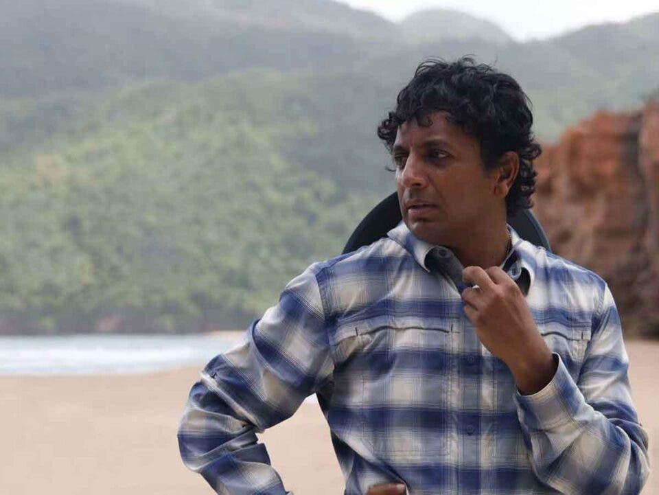 M. Night Shyamalan, director de TIEMPO