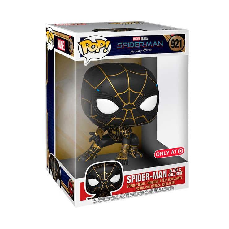 Spider-Man: No Way Home - Traje negro y dorado