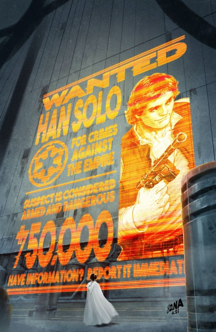 Star Wars Wars of the Bounty Hunters: Variante Han solo