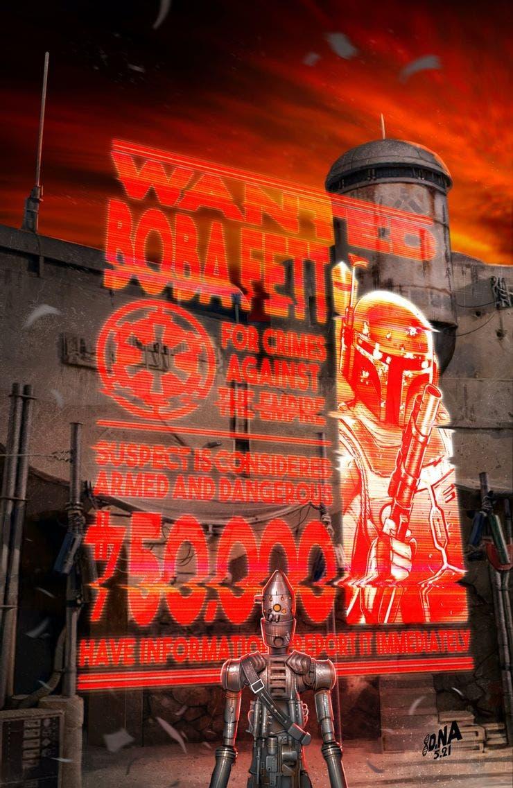Star Wars Wars of the Bounty Hunters: Variante Boba Fett