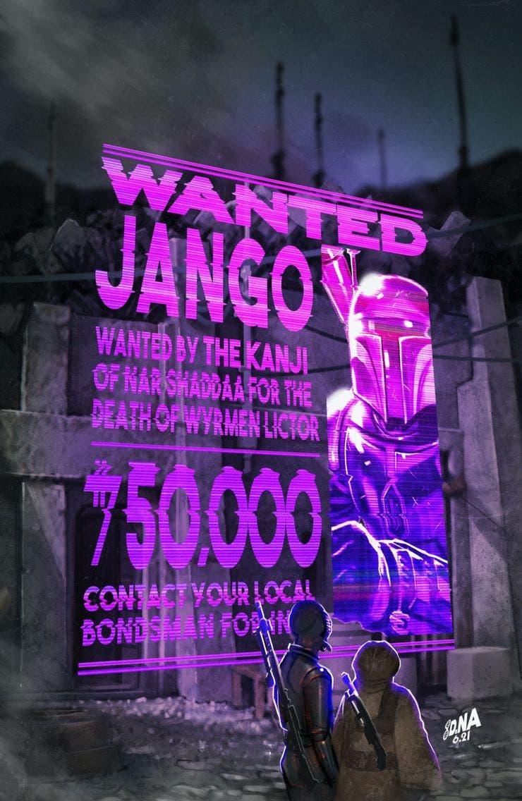 Star Wars Wars of the Bounty Hunters: Variante Jango