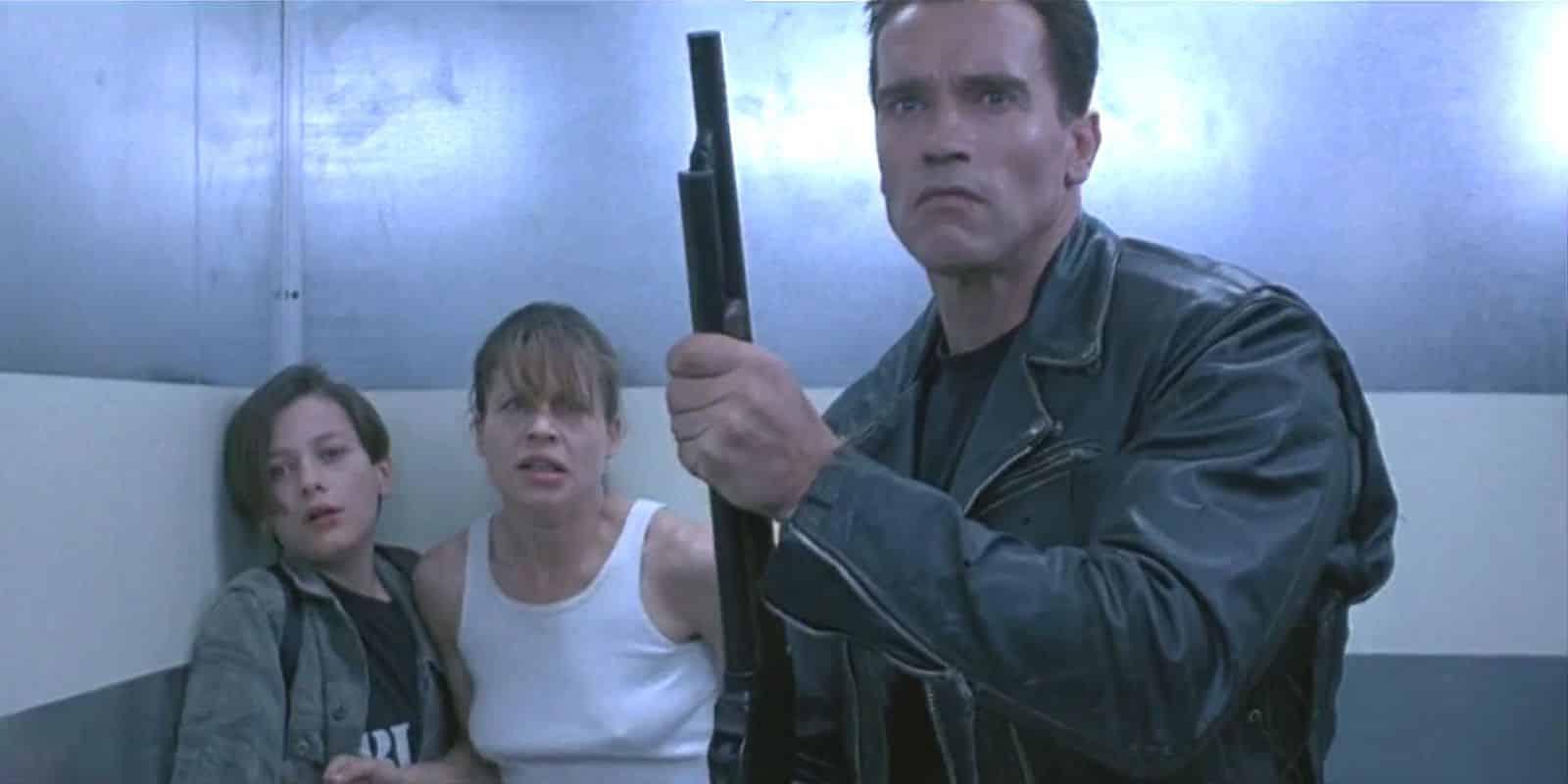 Terminator 2 Elevator Scene