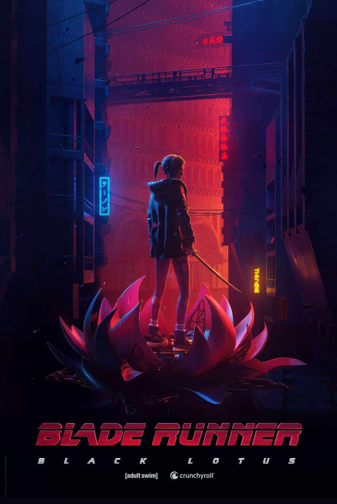 Blade Runner: Black Lotus estrena tráiler y póster