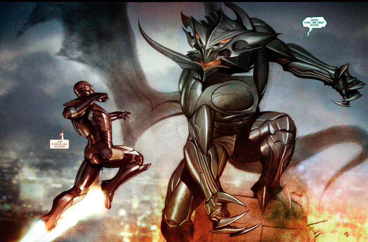 iron man viva las vegas comic