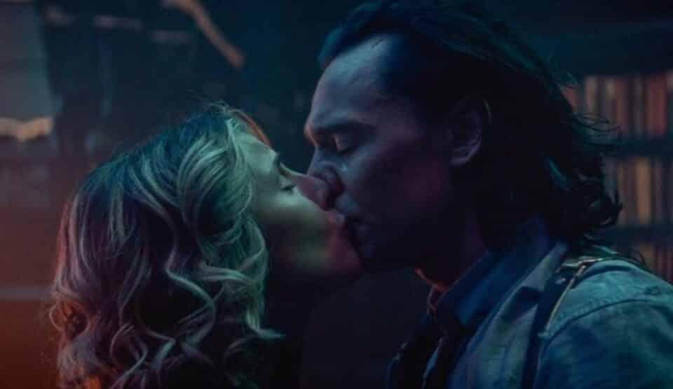 el beso de Loki y Sylvie