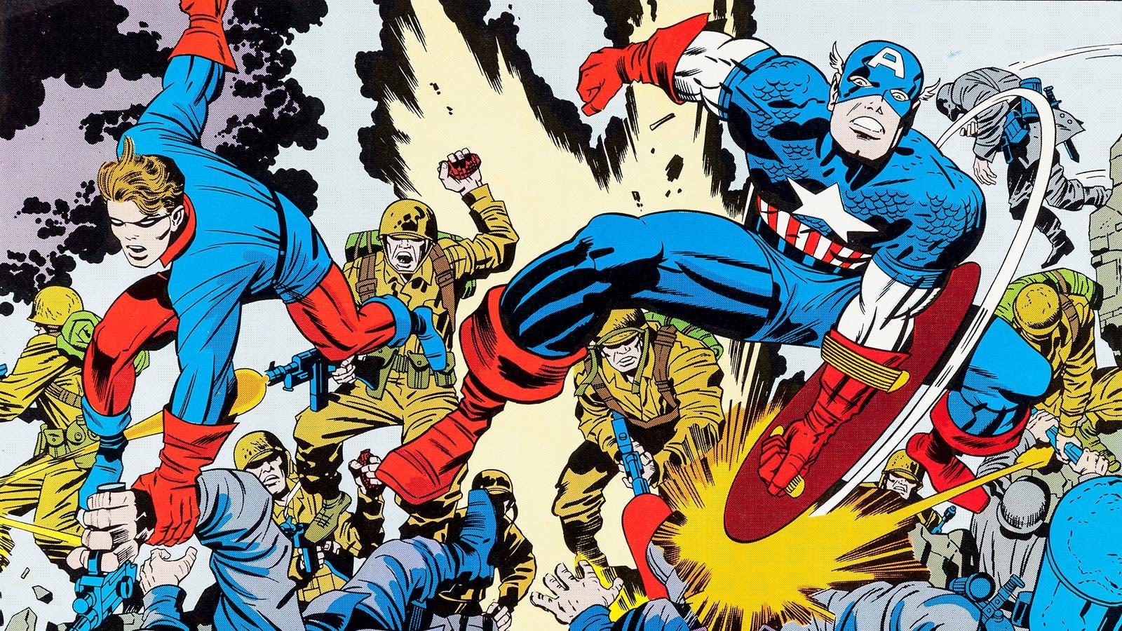 Capitán América Marvel