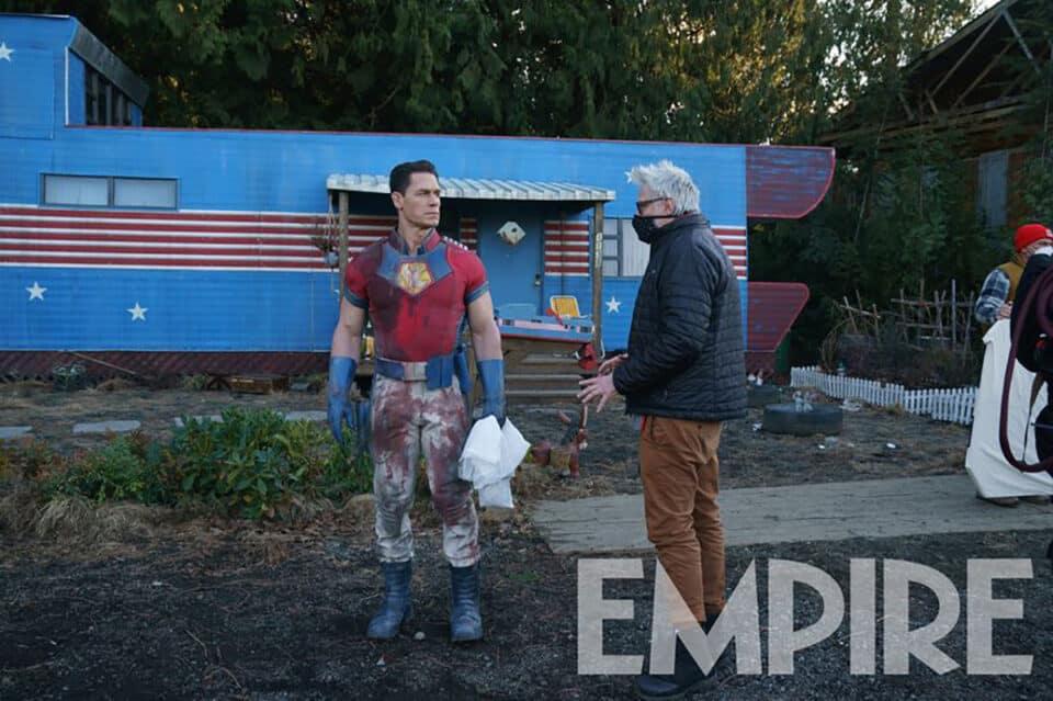 James Gunn prepara a audiencia para serie de Peacemaker y se burla del personaje