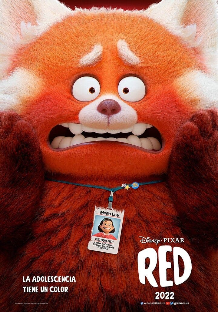 Red, the next Pixar film that seeks to be a success