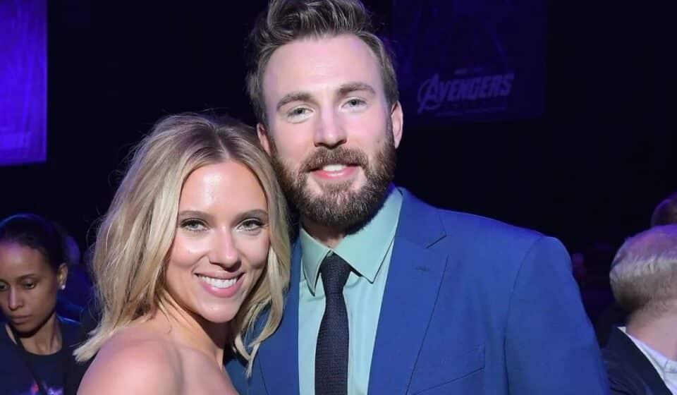 La amistad de Scarlett Johansson y Chris Evans es la mejor de Marvel