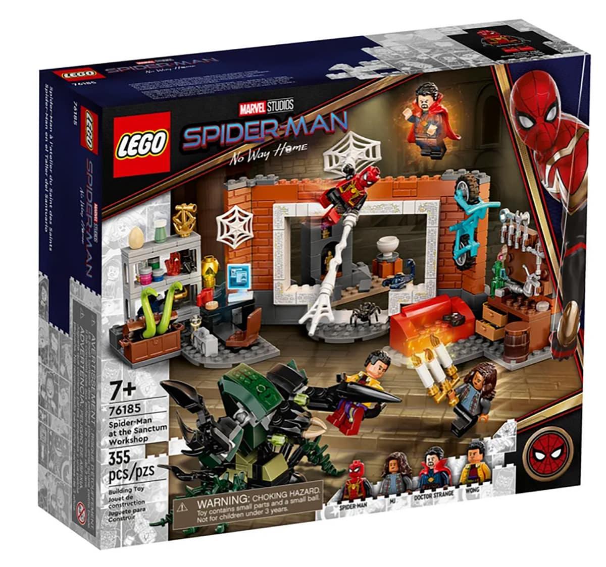 A falta de tráiler, set oficial de LEGO revela mucho de Spider-Man: No Way Home