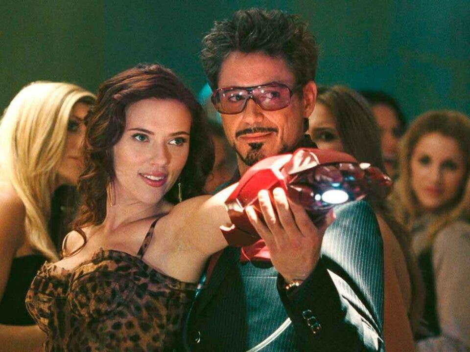 Productora de Marvel todavía molesta por una frase de Iron man 2: viuda negra iron man 2