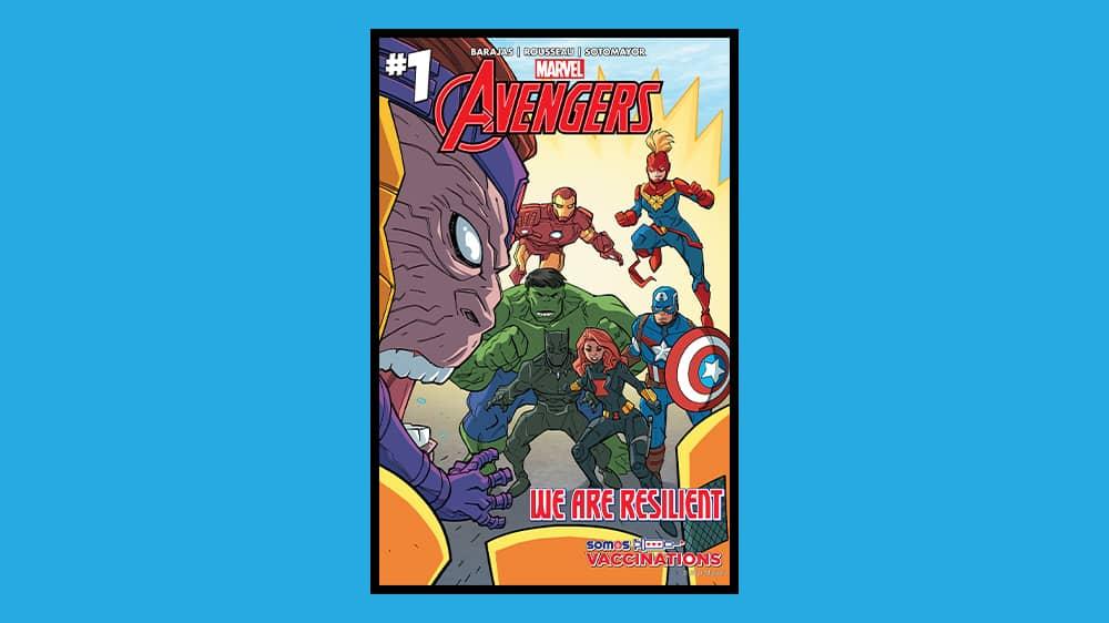 Avengers COVID Campaign