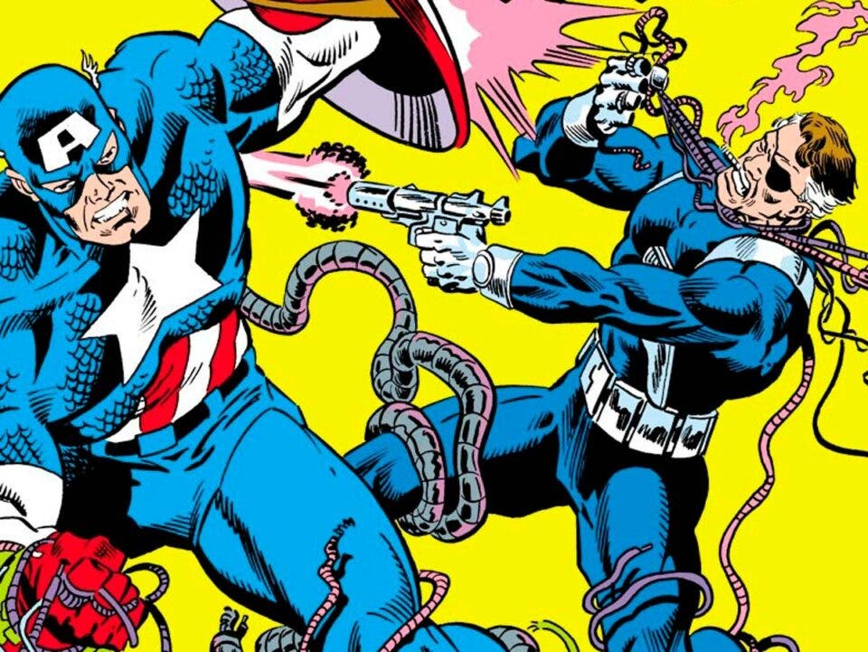 Marvel Héroes. Capitán América de Mark Gruenwald 3