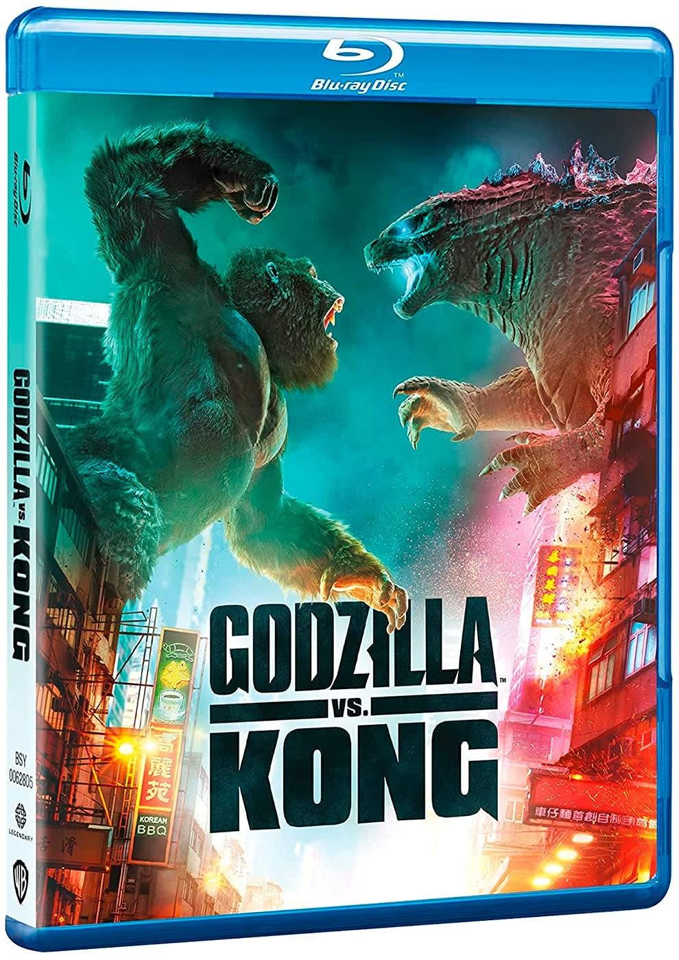 Godzilla vs Kong: Análisis del Blu-Ray Steelbook 4K Ultra HD