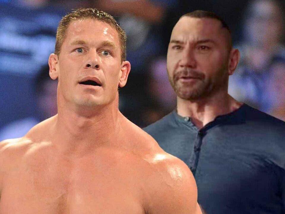 John Cena y Dave Bautista