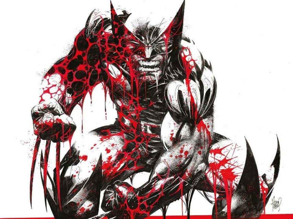 Lobezno: Blanco, negro y sangre