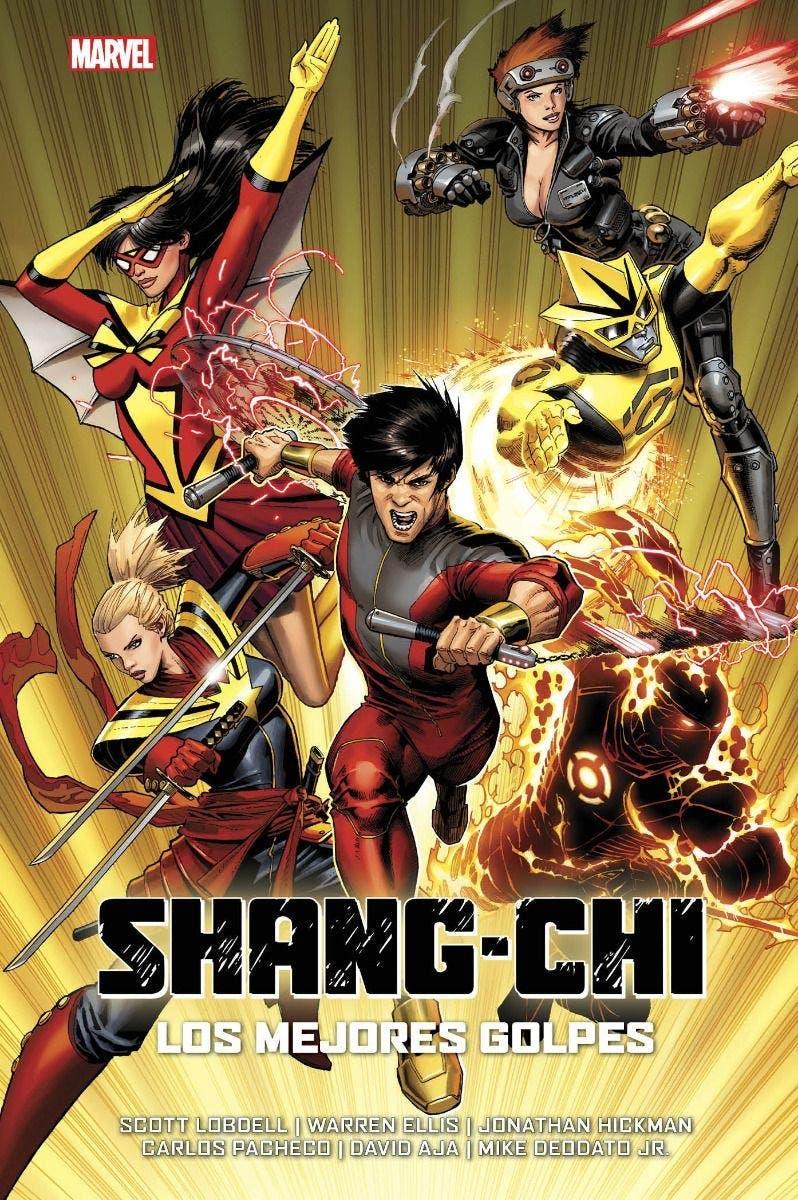 Shang-chi los mejores golpes