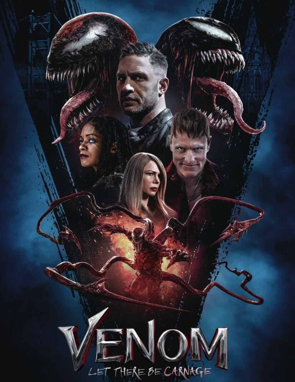 Venom: Habrá Matanza presenta nuevo y impactante póster