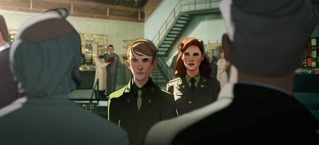 ¿Qué pasaría si...Capitana Carter fuera el primer vengador?