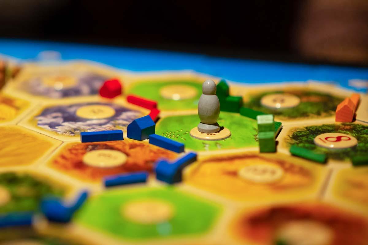 Juegos de mesa. Catán