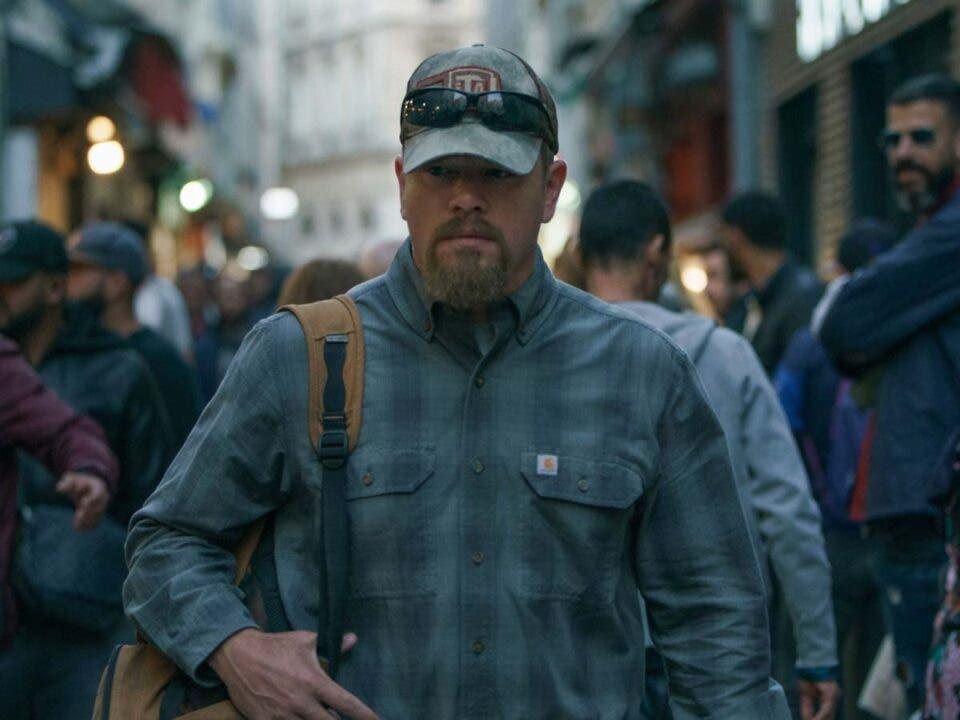 Matt Damon revela por qué lloró en el estreno de Cuestión de sangre