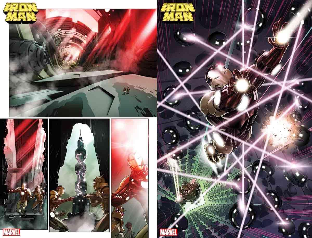 Así se convierte Iron Man en un Dios cósmico