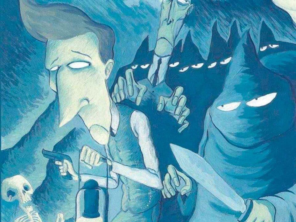 La Torre de los siete jorobados de Emilio Carrere llega al cómic.
