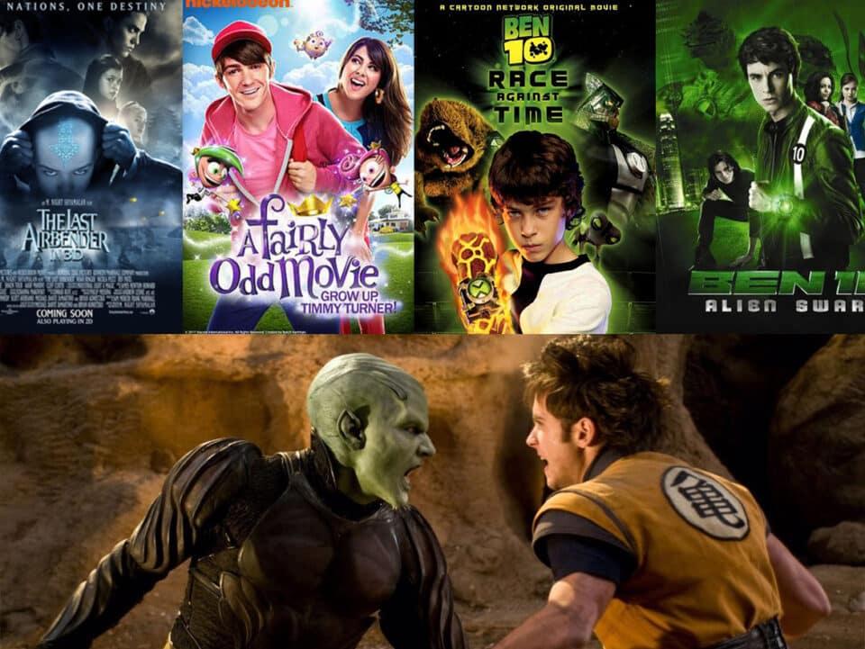 5 películas live-action que estarán mejor en el olvido