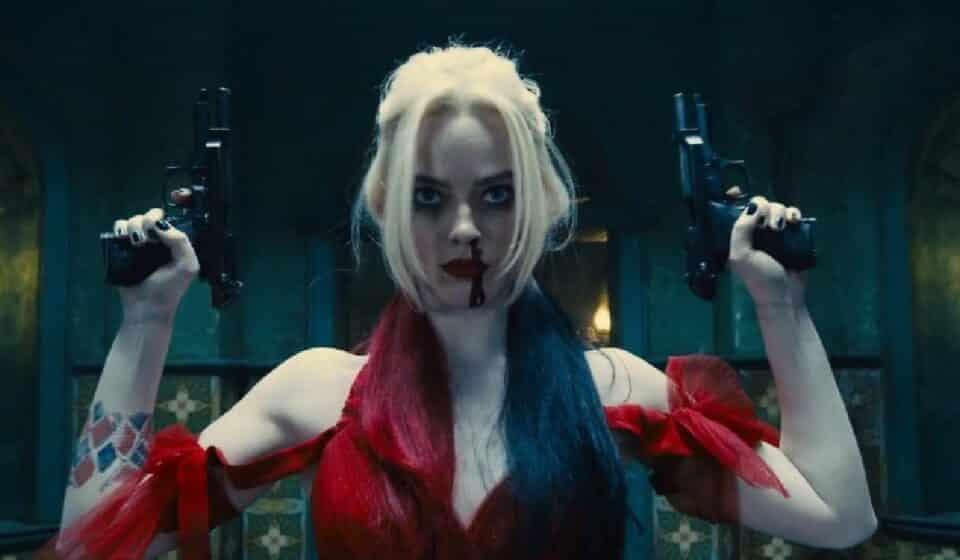 The Suicide Squad: Margot Robbie grabó esta increíble escena