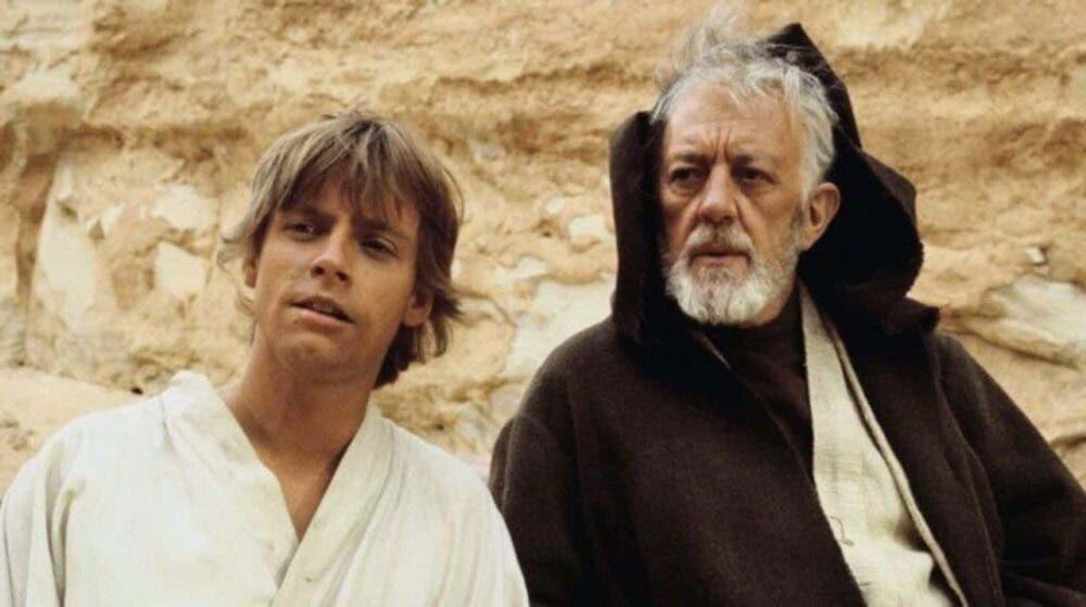 Luke y Obi-Wan