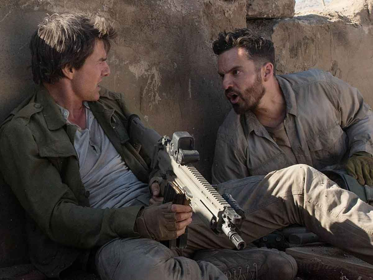 Un ejemplo de la intensidad de Tom Cruise en los rodajes