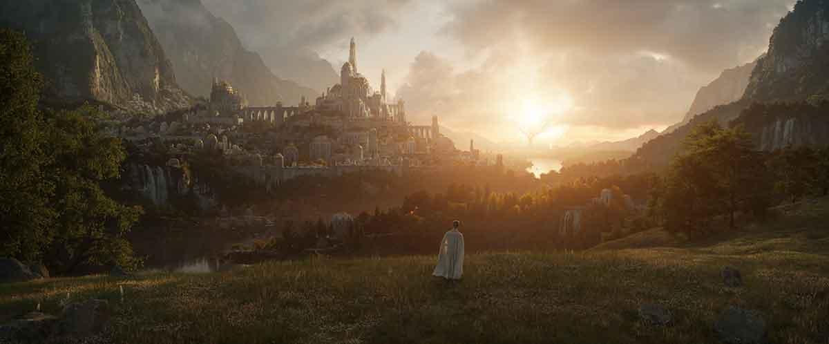 El lugar que revela la primera imagen de la serie de El Señor de los Anillos