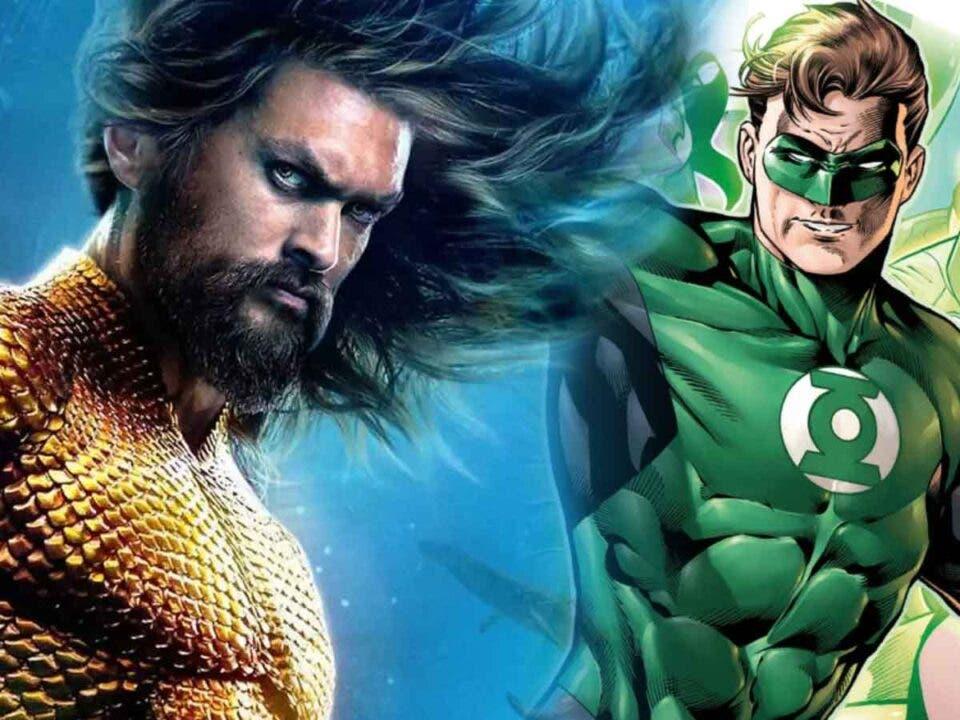 Aquaman villano Linterna Verde