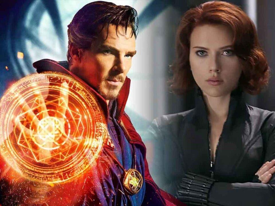 Benedict Cumberbatch Scarlett Johansson Doctor Strange Viuda Negra Marvel Studios Disney
