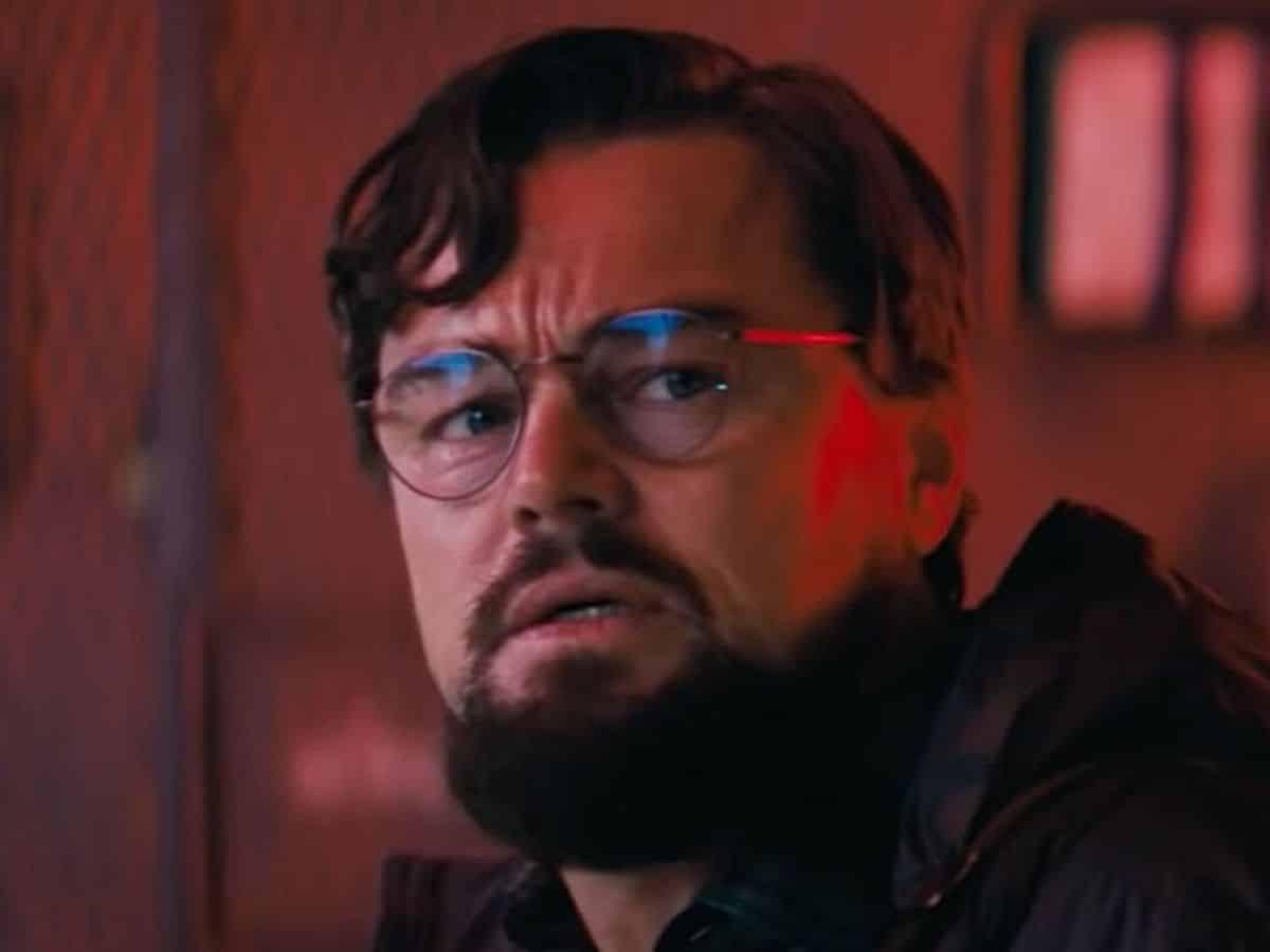 Leonardo DiCaprio en No mires arriba