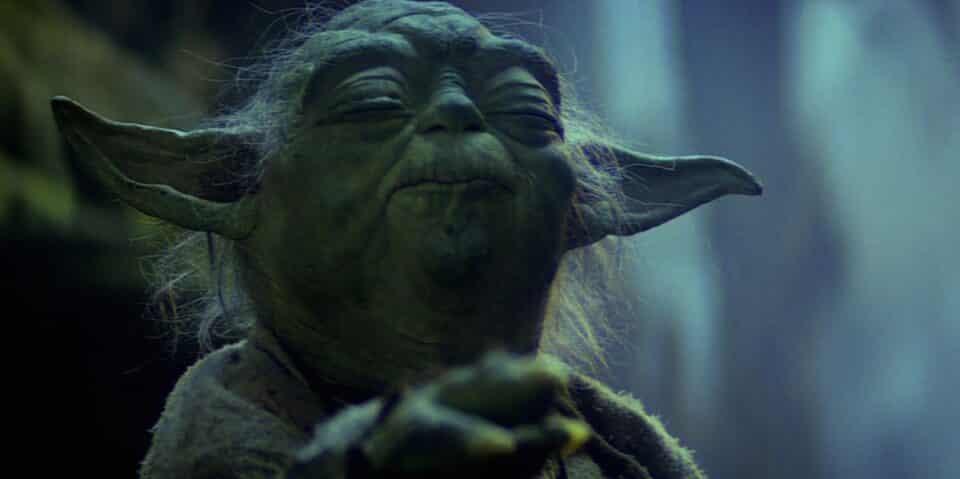 ¿Por qué Yoda tiene esa forma extraña de hablar en Star Wars?