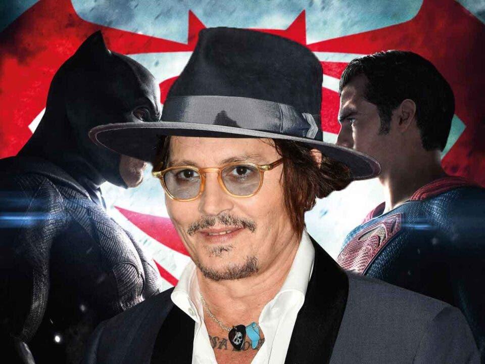 Johnny Depp casi protagoniza Batman vs Superman