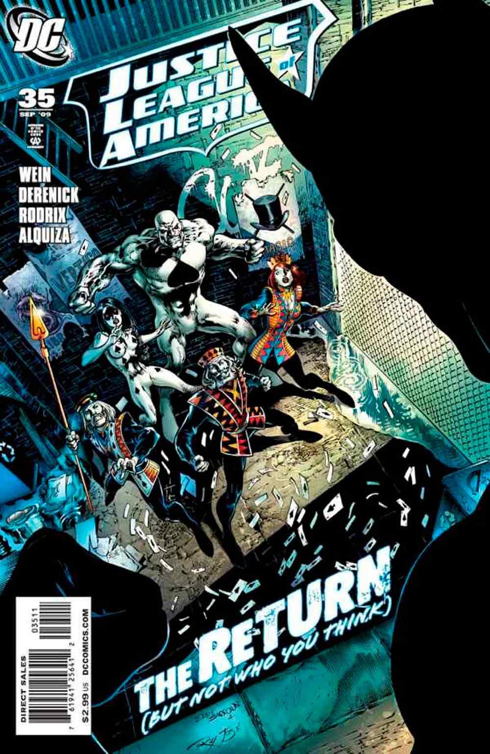 Liga de la Justicia de América Vol. 2 # 35