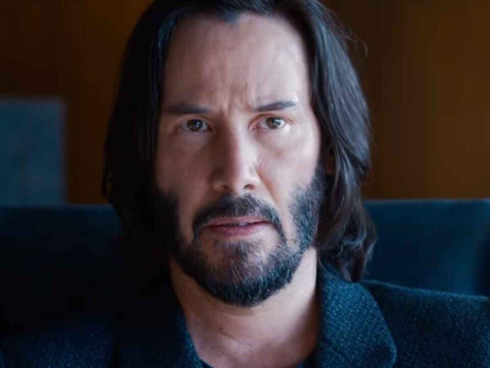 Keanu Reeves Matrix 4 NEO