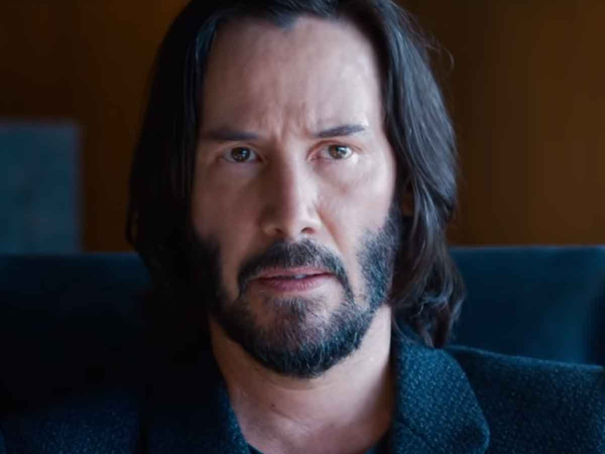 Keanu Reeves reacted like this when seeing Matrix 4 finished
