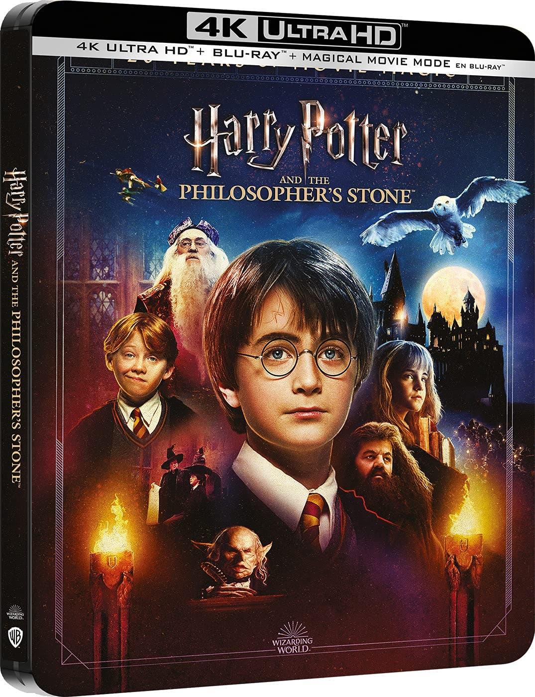 Harry Potter y La Piedra Filosofal + Magical Movie Mode