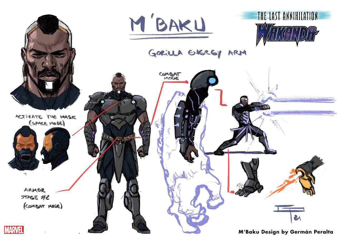 Black Panther: El sorprendente cambio de look de M'Baku