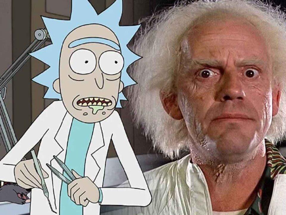 Así es el aspecto de Rick y Morty en acción real
