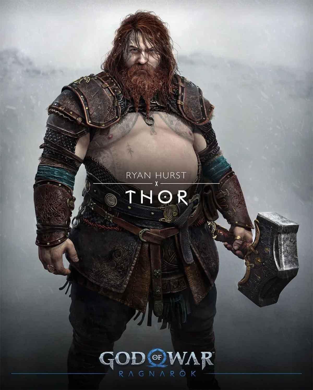 Motivo por el que Thor de God of War es diferente al de Marvel Studios