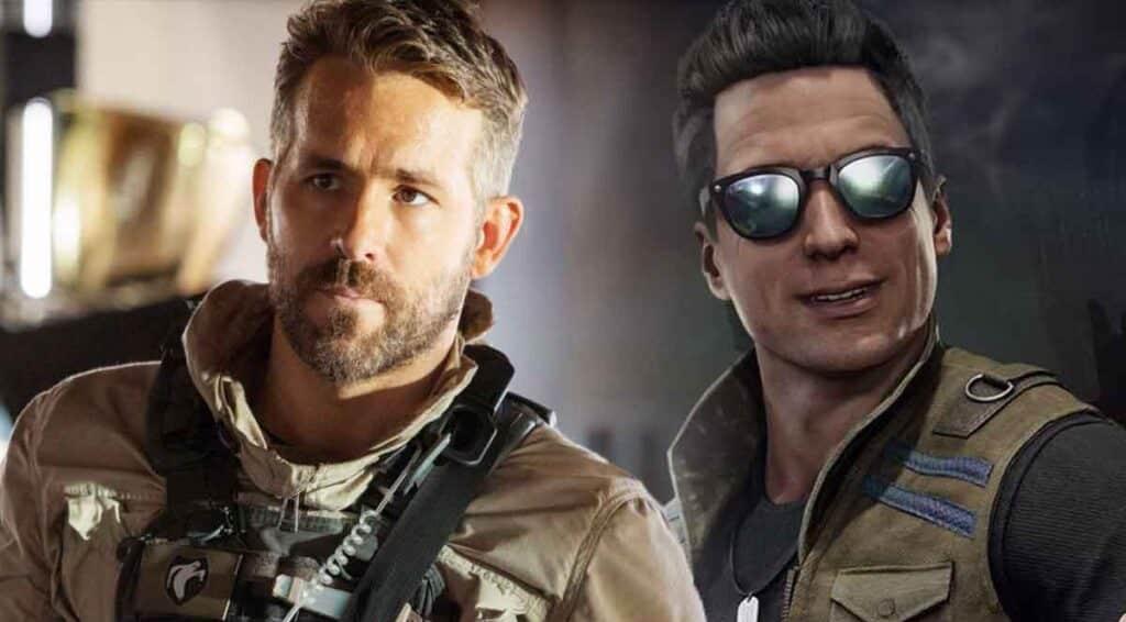 Supuesto Ryan Reynolds como Johnny Cage