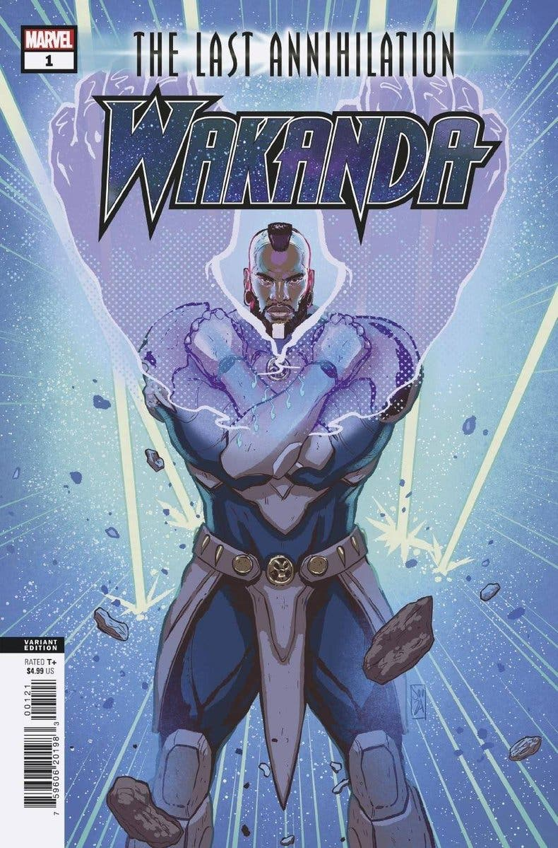 Variante portada de La última aniquilación: Wakanda