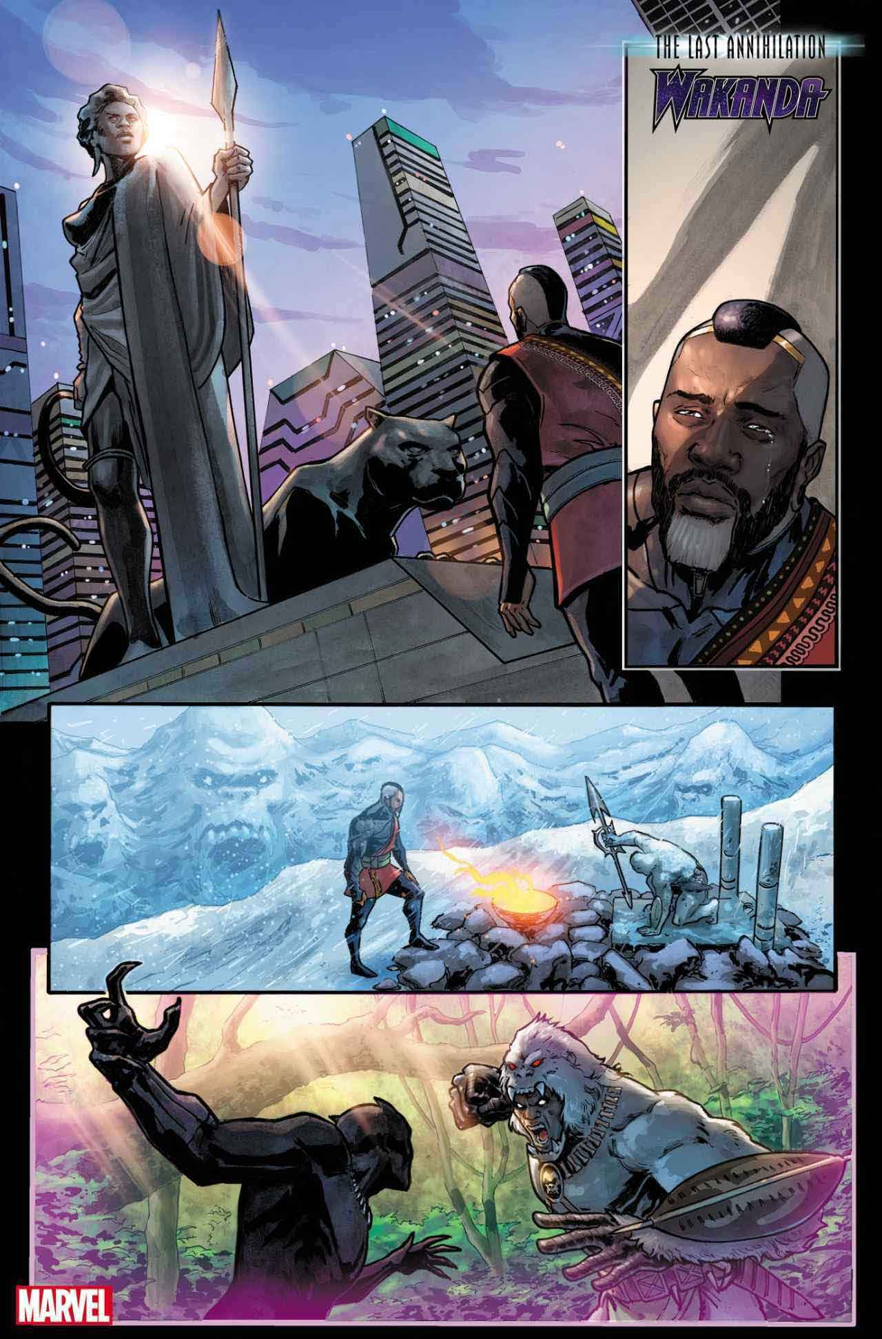 La última aniquilación: Wakanda