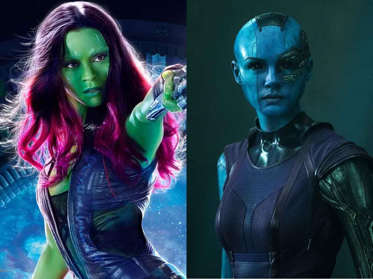nebula gamora guardianes de la galaxia vol 3 marvel studios