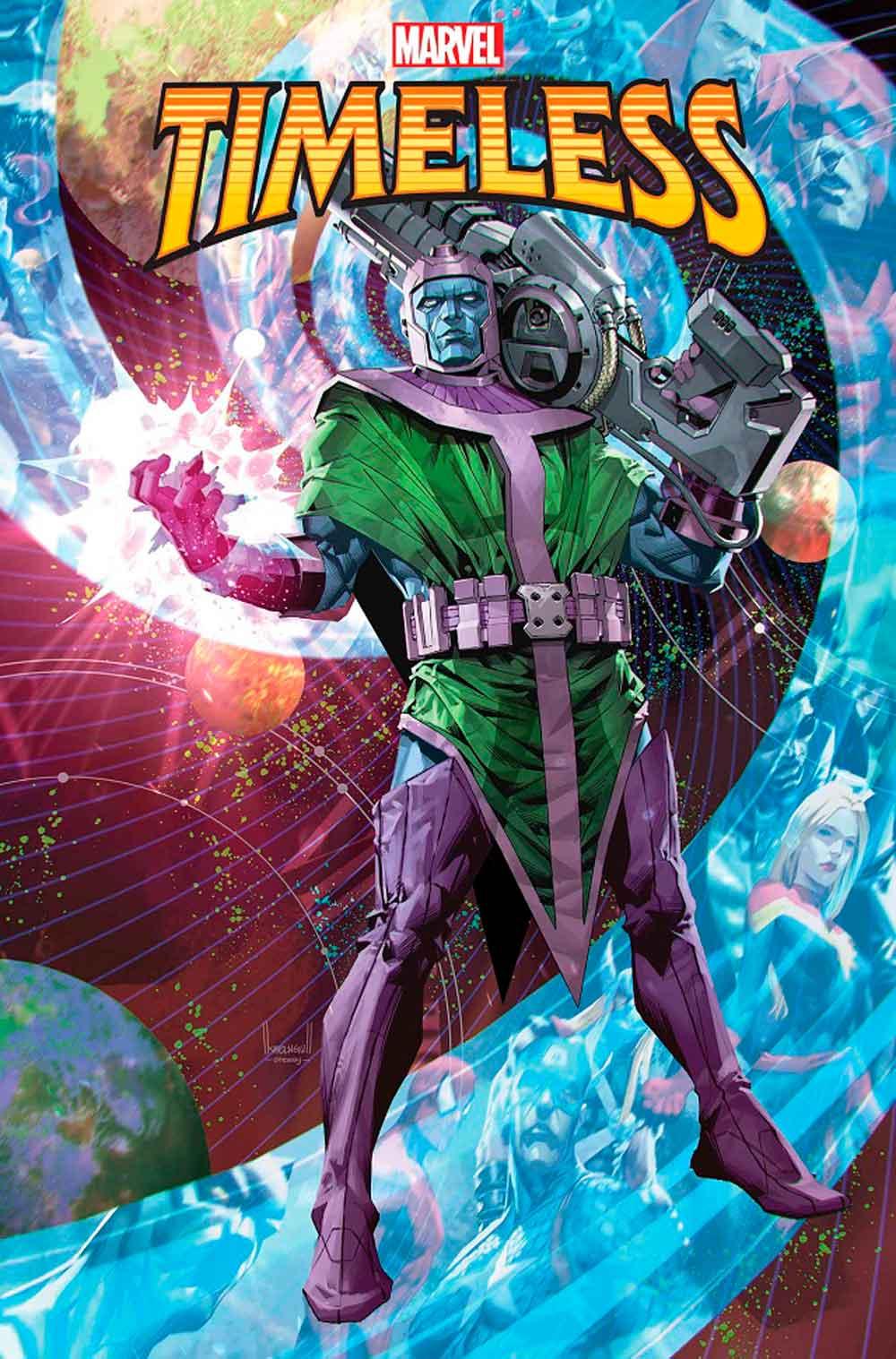 El gran villano de la Fase 4 de Marvel protagoniza Timeless